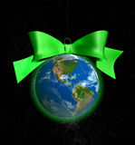 Christmas ball bauble amerika Royalty Free Stock Photos