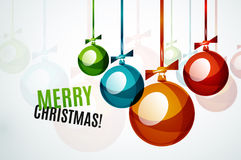 Christmas ball, bauble, New Year Concept Royalty Free Stock Photography
