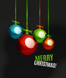 Christmas ball, bauble, New Year Concept Royalty Free Stock Images
