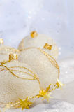 Christmas ball baubles Royalty Free Stock Images