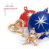 Christmas ball bubbles Royalty Free Stock Images