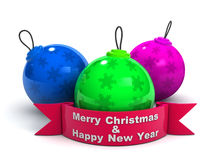 """Christmas Ball. """"Christmas Ball"""", can be used in business, personal, charitable and educational design projects: it may be used in web design, printed media Stock Photo"""