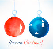 Christmas ball. Christmas decoration. Stock Photos