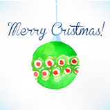 Christmas ball. Christmas decoration. Stock Photo