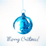 Christmas ball. Christmas decoration. Royalty Free Stock Image