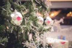 Christmas ball from Christmas tree Stock Photo