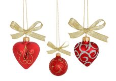 Christmas Ball / clipping path Royalty Free Stock Image