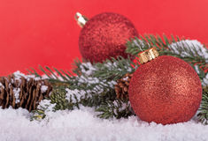 Christmas Ball Closeup Royalty Free Stock Images