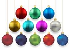 Christmas ball collection Stock Photo