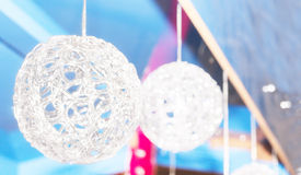 Christmas ball with copy space Stock Photos