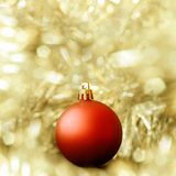 Christmas ball decoration Stock Image