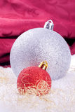 Christmas ball decoration Royalty Free Stock Photos