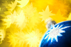 Christmas ball decoration Stock Photo