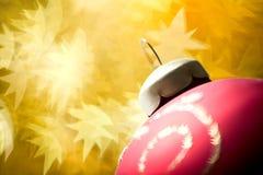 Christmas ball decoration Royalty Free Stock Photo