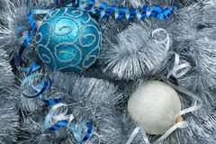 Christmas ball and decoration Royalty Free Stock Images