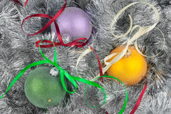 Christmas ball and decoration Royalty Free Stock Image