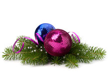 Christmas ball decoration Royalty Free Stock Image