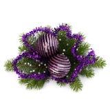 Christmas ball decoration Royalty Free Stock Photography