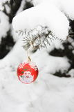 Christmas Ball Decoration - Stock Photo Royalty Free Stock Images