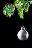 Christmas ball. Decoration xmas tree Royalty Free Stock Images