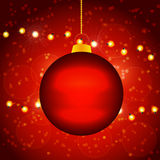 Christmas Ball Design Stock Images