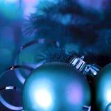 Christmas ball and fir Stock Photography