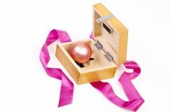Christmas ball gift Stock Photography