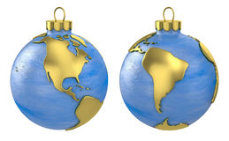 Christmas ball globe, America Stock Image