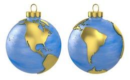 Christmas ball globe, America Stock Image