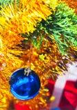 Christmas ball hang  form decoration Stock Photography