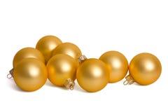 Christmas ball Hanging. Christmas bauble isolated on white Stock Image