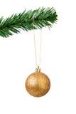 Christmas ball hanging Stock Image