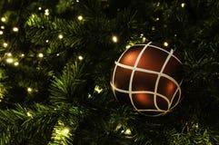 Christmas ball hanging on tree. Stock Photography