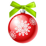 Christmas ball icon Stock Image