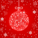 Christmas ball illustration Royalty Free Stock Photo