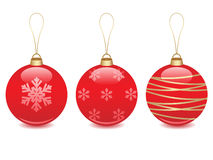 Christmas ball illustration Royalty Free Stock Image