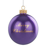 Christmas ball isolated Royalty Free Stock Photo