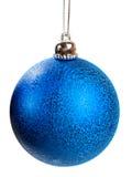 Christmas ball. Isolated on white background stock photos
