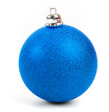 Christmas ball. Isolated on white background stock images