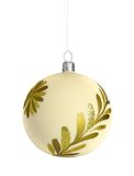 Christmas ball. Isolated on white background Royalty Free Stock Images