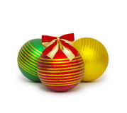 Christmas ball isolated on white background cutout Stock Photos