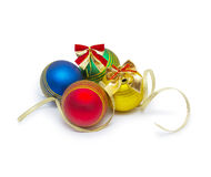 Christmas ball isolated on white background cutout Royalty Free Stock Photo