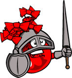 Christmas ball knight Royalty Free Stock Photography