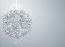Christmas ball light abstract background. Royalty Free Stock Photography