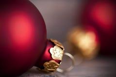 Christmas Ball Macro Royalty Free Stock Photography