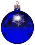 Christmas ball mirrow Stock Images