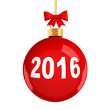 Christmas ball. Royalty Free Stock Image