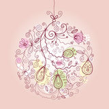 Christmas ball ornament Stock Photos