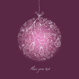 Christmas ball ornament Royalty Free Stock Photography