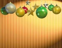Christmas ball ornament Stock Image